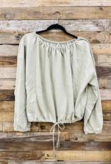 Halo Drawstring Sweatshirt