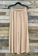 Halo Mustard Wide Leg Pants