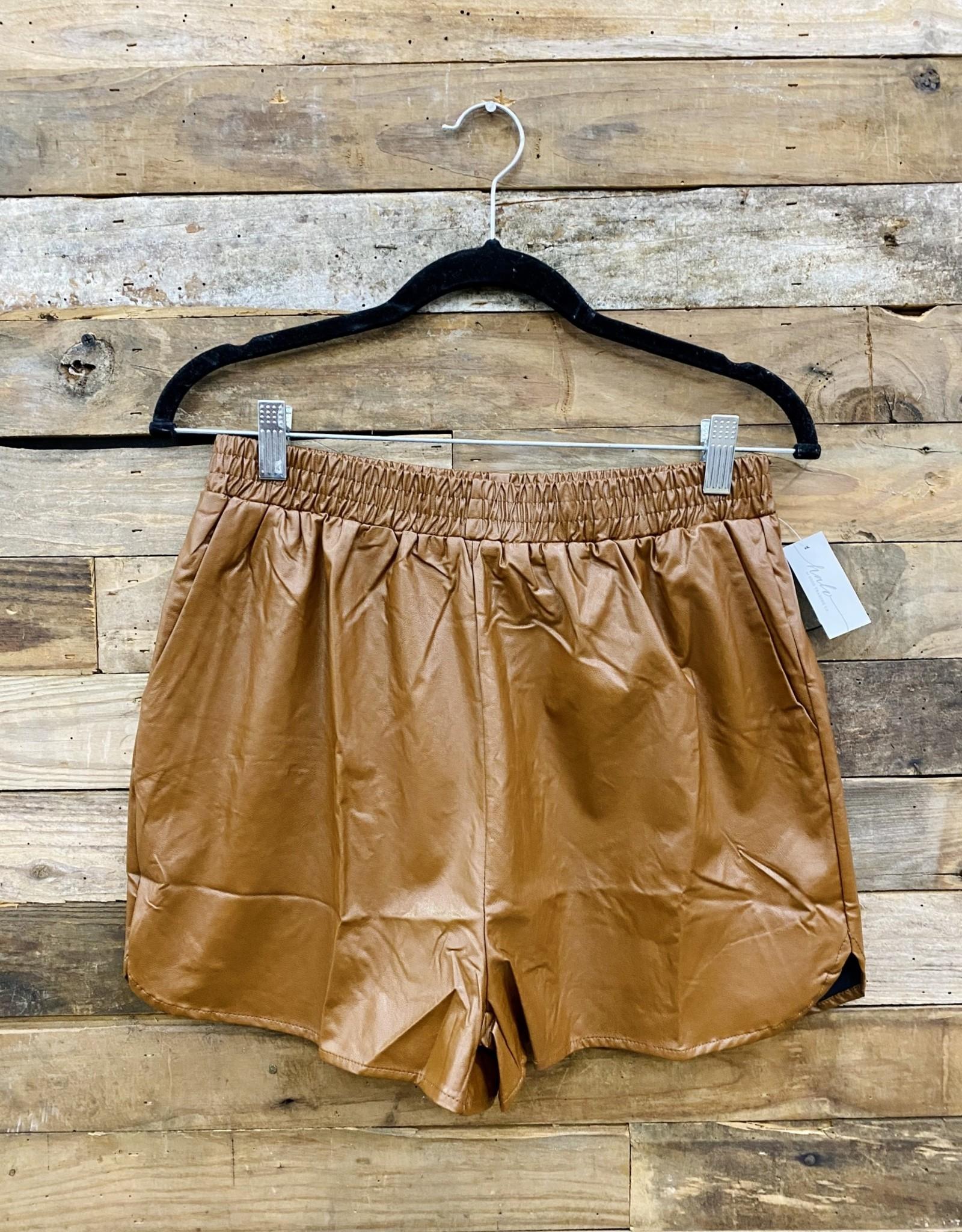 Halo Camel Shorts