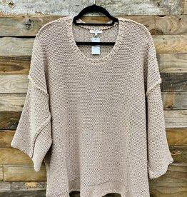 Halo Mauve Chunky Knit Sweater