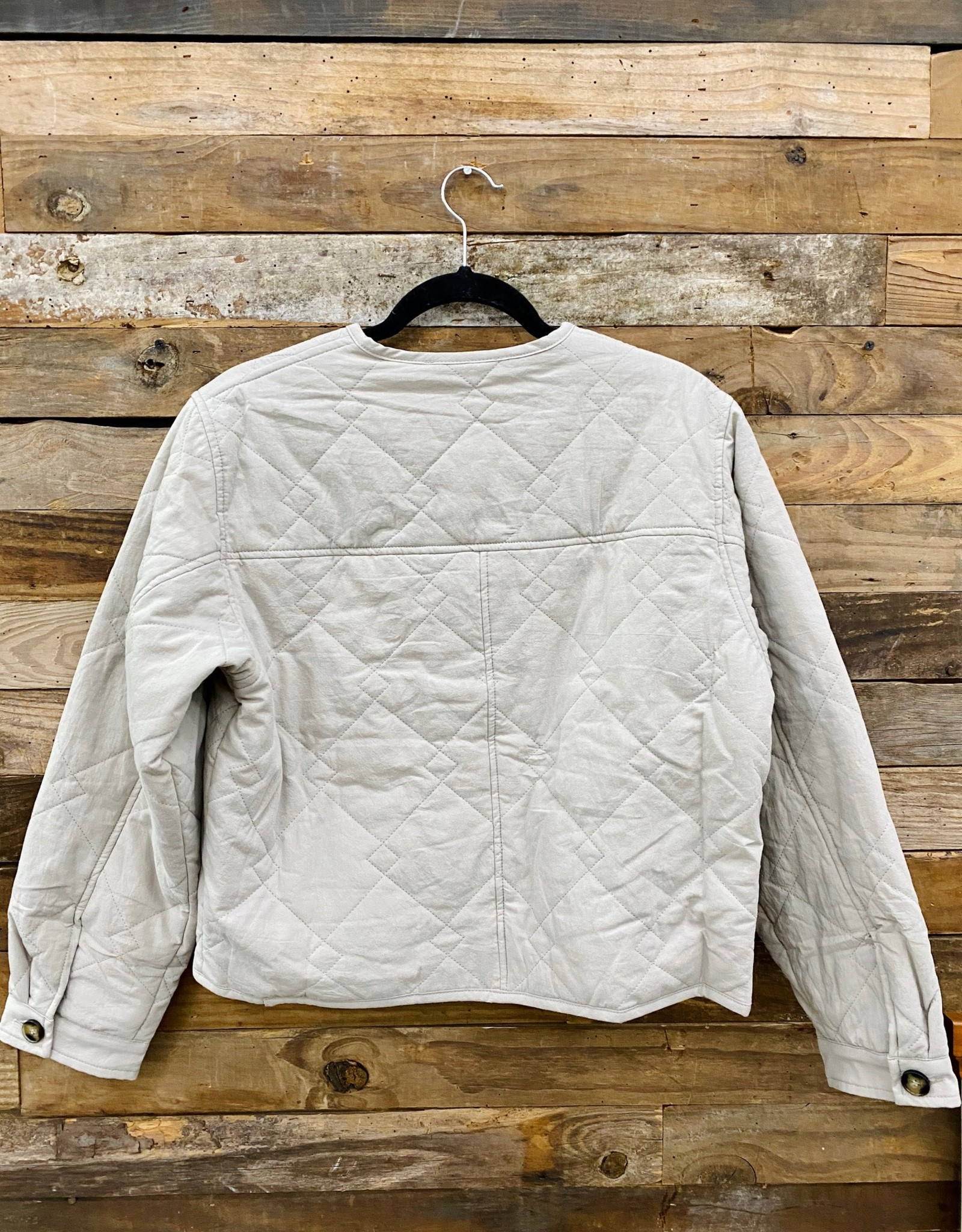 Halo Quilted Jacket