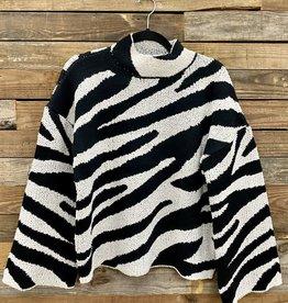 Halo Zebra Sweater