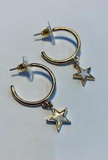 Halo Star Earrings
