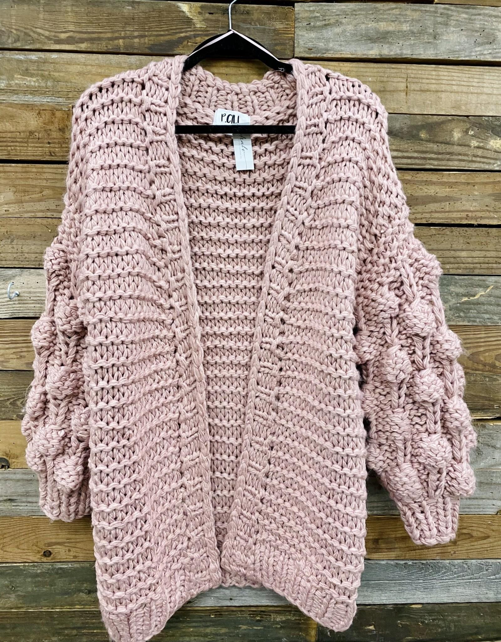 Halo Bubble Sleeve Sweater