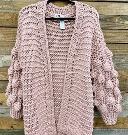 Halo Bubble Sleeve Sweater