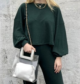 Halo Green Jersey Set Top