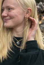 Halo Grey Stone Necklace