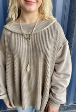 Halo Khaki Sweater