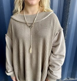 Halo Khaki Sweater