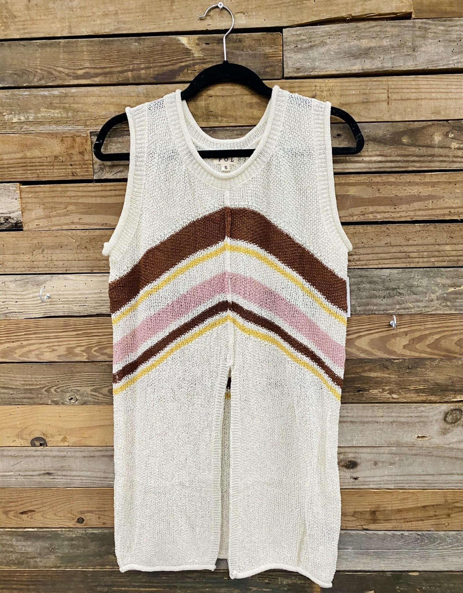 Halo Neopolitan Split Sweater