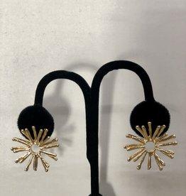 Halo Starburst Earrings