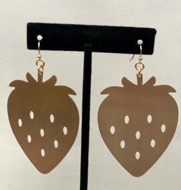 Halo Strawberry Earrings