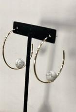 Halo Planet Earrings