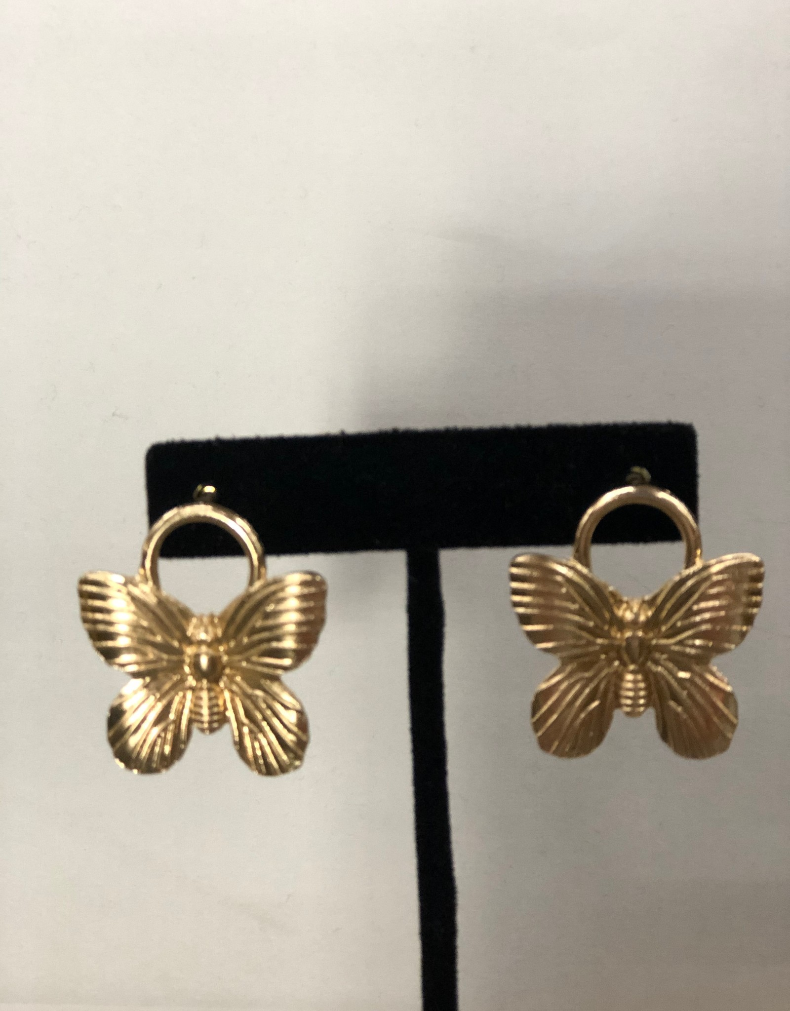 Halo Moth Earrings