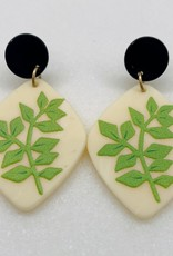 Halo Eucalyptus Earrings