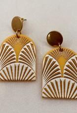 Halo Golden Sunset Earrings