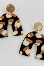 Halo Blabstract Earrings