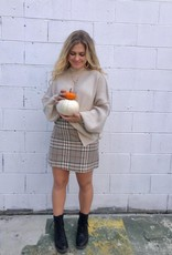 Halo Not Plaid About It Skirt