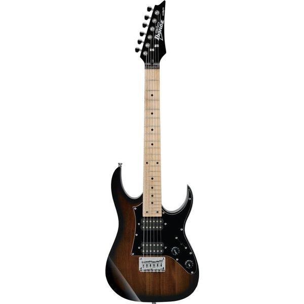 Ibanez Ibanez GRGM21MWNS Gio Mikro 3/4 Size Electric Guitar Walnut Sunburst