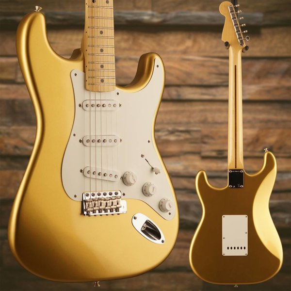 Fender American Original '50s Stratocaster, Maple Fingerboard, Aztec Gold S/N V1744675, 7lbs, 13.6oz