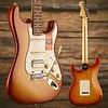 American Pro Stratocaster HSS Shawbucker, Rosewood Fingerboard, Sienna Sunburst