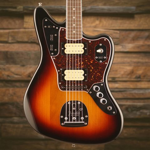 Kurt Cobain Jaguar, Rosewood Fingerboard, 3-Color Sunburst