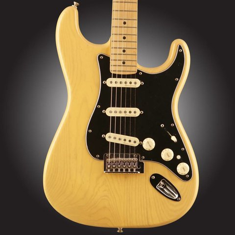 Fender Deluxe Strat Maple Neck Vintage Blonde