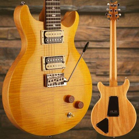 PRS Paul Reed Smith SE Santana Yellow w/ Bag S/N: S11953