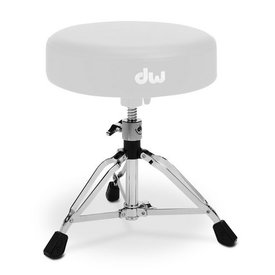 DW DROPSHIP DW 9000 Series Base For 9101 Drum Throne-Tripod Chrome DWSP126