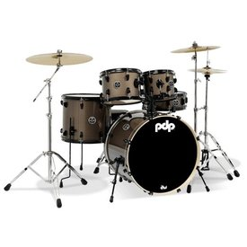 PDP PDP Main Stage Ms 5Pc, 22Bd, Hw, Paiste Cym, Brz Metl Finish Ply PDMA2215P8BZ