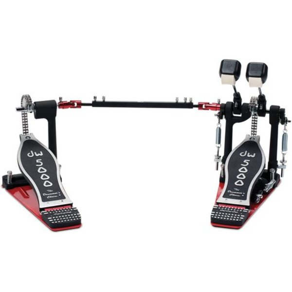 DW DROPSHIP DW 5002 Series Turbo Double Pedal W/ Bag DWCP5002TD4