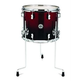 PDP PDP Concept Series Red To Blk Fade - Chrm Hw 14X16 Lacquer Specialty PDCM1416TTRB