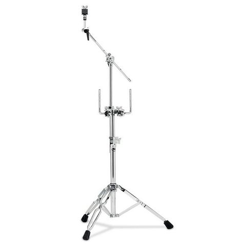 DW 9000 Series Double Tom And Cymbal Stand Gold Gold DWCP9934GD
