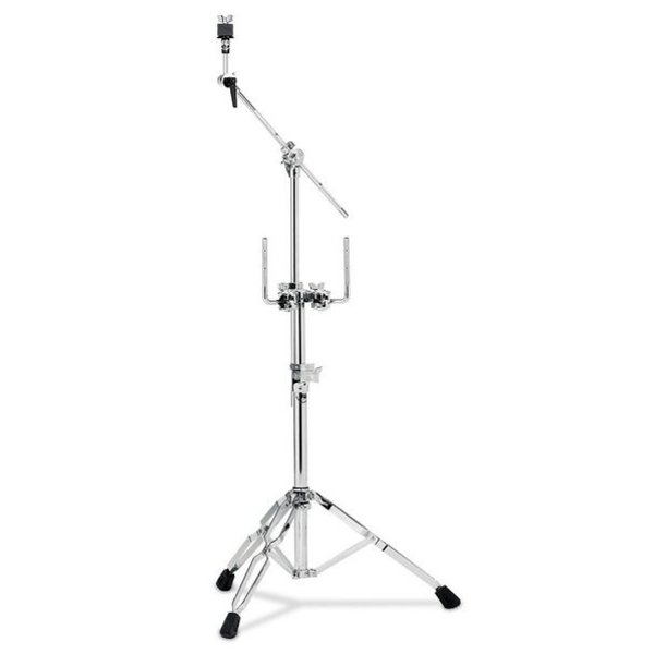 DW DROPSHIP DW 9000 Series Double Tom And Cymbal Stand Gold Gold DWCP9934GD