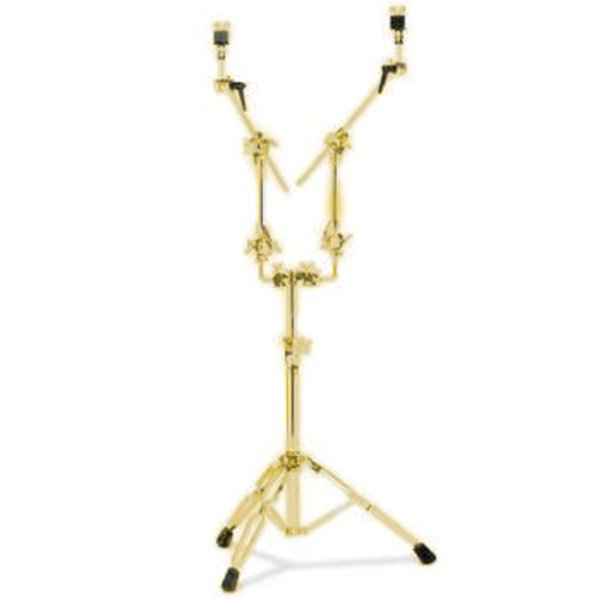 DW DROPSHIP DW 9000 Series *Special Order* Double Cymbal Stand Gold Gold DWCP9799GD