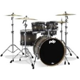 PDP PDP Concept Series Satin Charcoal Burst, Chrome Hw, 16X20 Satin Specialty PDCM1620KKSCB