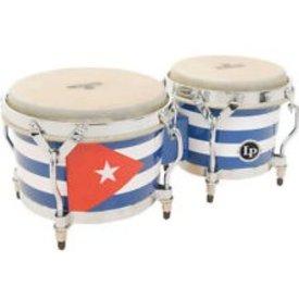 LP LP Matador Mat Bongos Cuban Flag Graphic Art M201-QBA