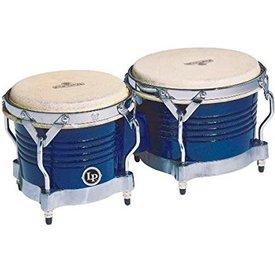 LP LP Matador Bongos Blue Wood Chrm Blue M201-BLWC