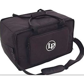 LP LP LP Series Ultra-Tek Touring Bongo Bag Black LP533-UT