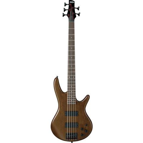 Ibanez GSR205BWNF Gio Soundgear 5-String Electric Bass Guitar Walnut Flat