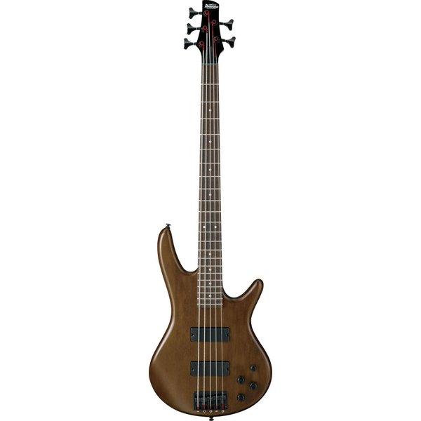 Ibanez Ibanez GSR205BWNF Gio Soundgear 5-String Electric Bass Guitar Walnut Flat