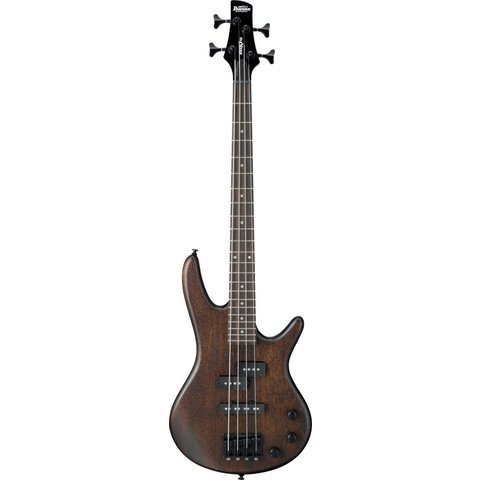 Ibanez GSRM20BWNF Gio Soundgear Mikro 3/4 Size Electric Bass Guitar Walnut Flat