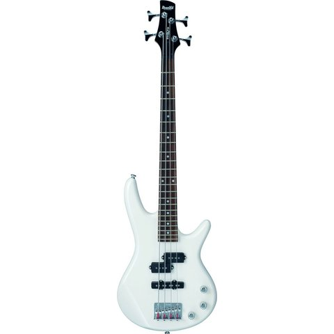 Ibanez GSRM20PW Gio Soundgear Mikro 3/4 Size Electric Bass Guitar Pearl White