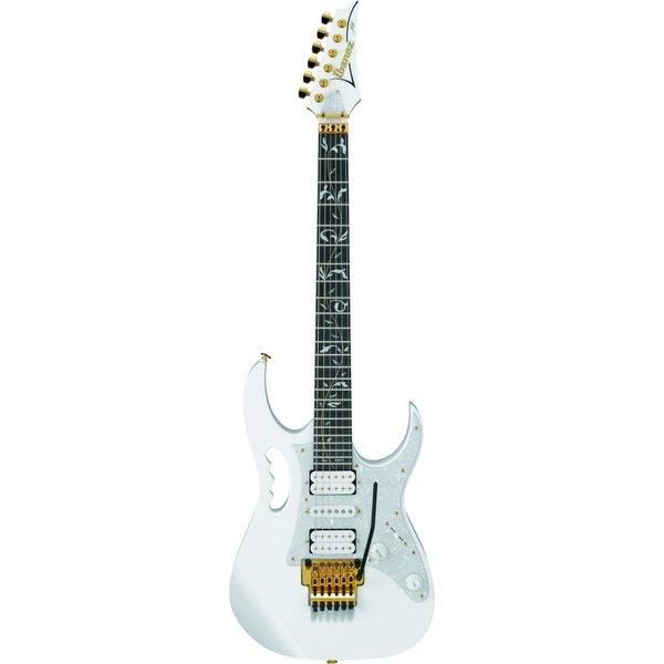 Ibanez Ibanez JEM77VWHSteve Vai Signature JEM Electric Guitar White w/Case