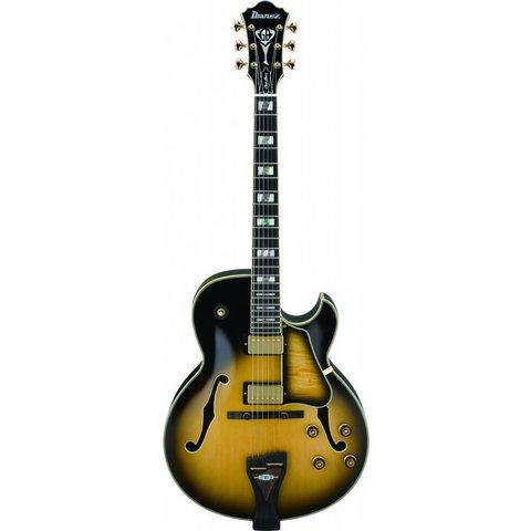 Ibanez LGB300VYS George Benson Signature Hollow Vintage Yellow Sunburst w/Case