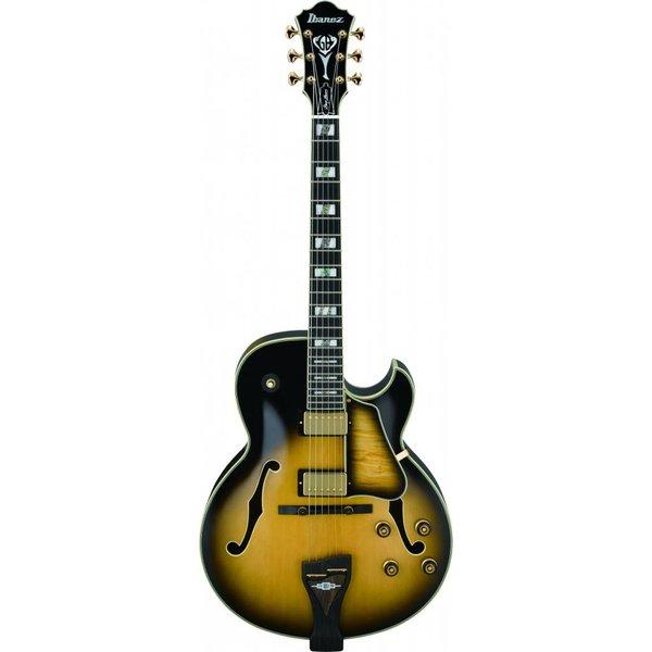 Ibanez Ibanez LGB300VYS George Benson Signature Hollow Vintage Yellow Sunburst w/Case