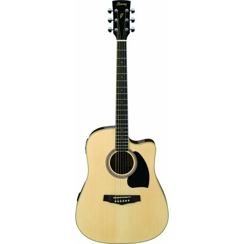 Ibanez PF15ECENT Performance Acoustic Electric Guitar Natural