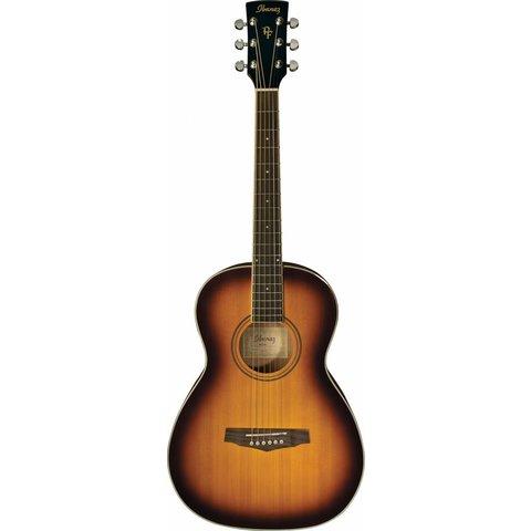 Ibanez PN15BS Performance Acoustic Parlor Guitar Vintage Sunburst S/N 181005390