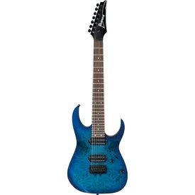 Ibanez Ibanez RG7421PBSBF RG 7-String Electric Guitar Flat Sapphire Blue