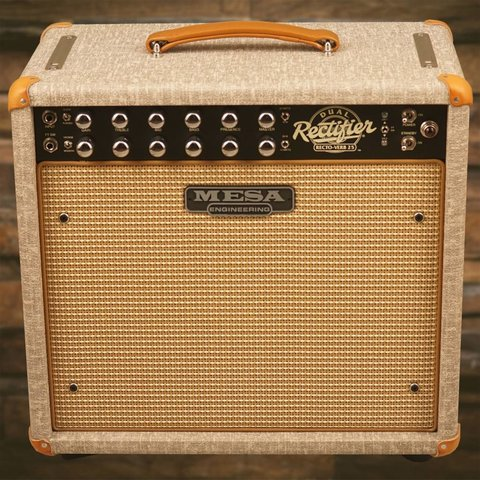 Mesa Boogie Recto-Verb 25 1x12 Combo Custom Build Fawn Slub Bronco